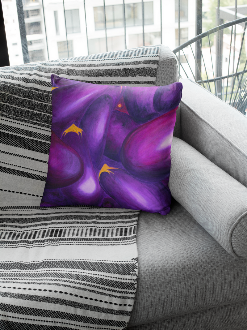 Artify Life™ EGGPLANT Pillow Cover