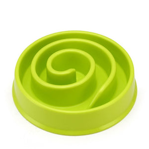 "The ""Slow Down!"" Doggie Bowl"