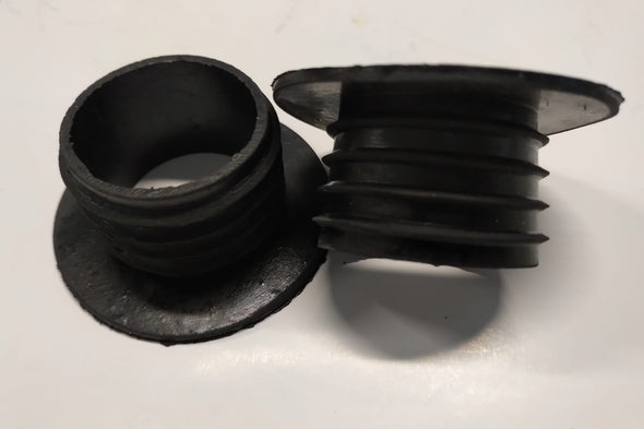 Base Black Glass Rubber (Bag of 25)