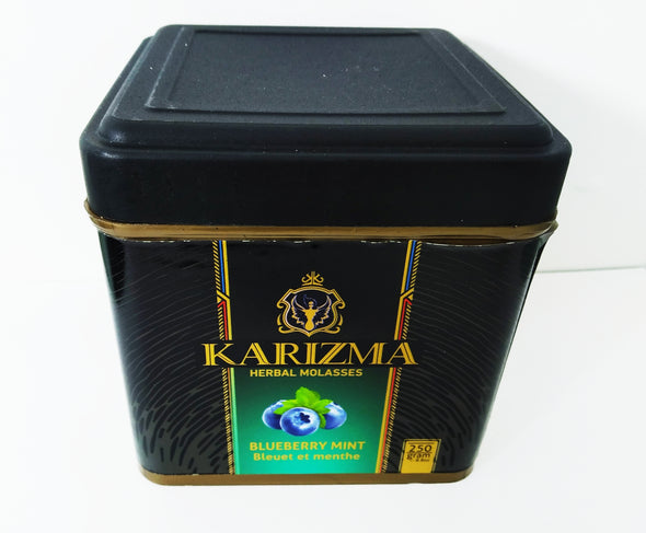 Karizma Herbal Molasses BlueBerry Mint 250 Grams