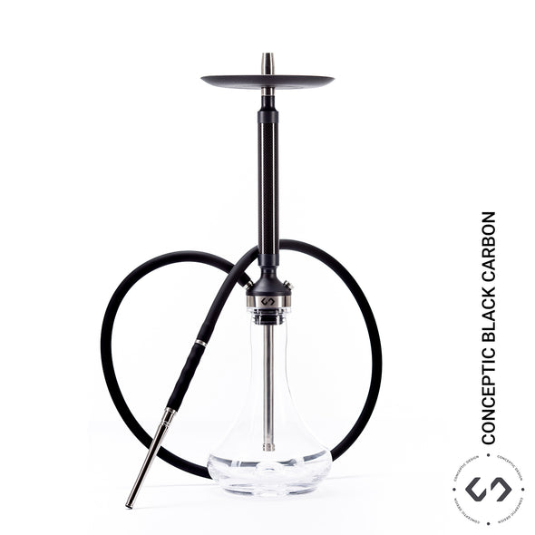 Conceptic Hookah Carbon black (no base)