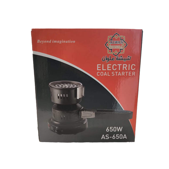 Electric Round Charcoal Burner With 650W