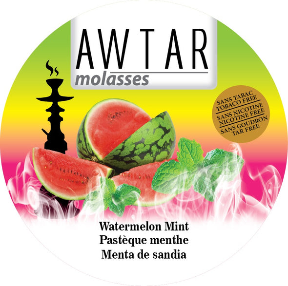 Awtar 250g Herbal Molasses (Watermelon Mint)
