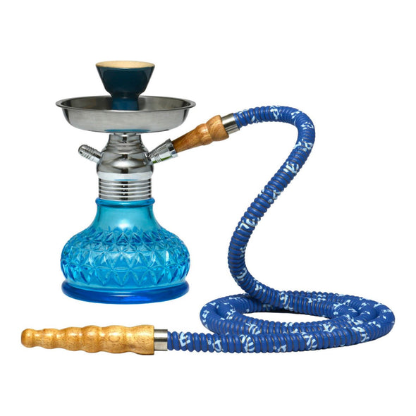 Minion Hookah W/ Chrome Set - 7""