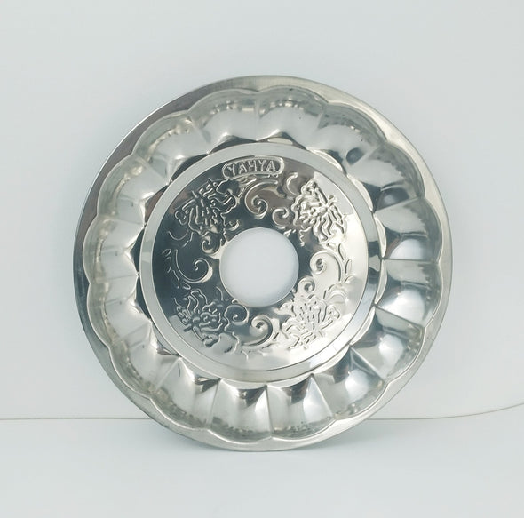 Yahya Traditional Tray Silver Large