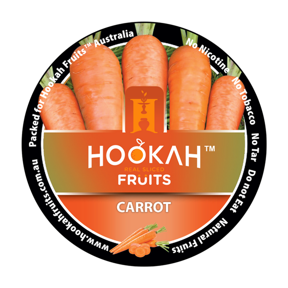 Hookah Fruits Molasses - Carrot - 100 Grams