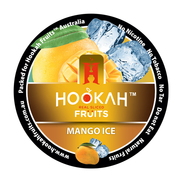 Hookah Fruits Molasses - Mango Ice - 100 Grams