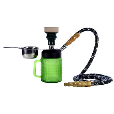 "MYA SARAY 10"" Jarra Glass Hookah Set"