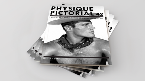 Physique Pictorial Subscription w/shipping OUTSIDE USA [Quarterly Auto-Pay]