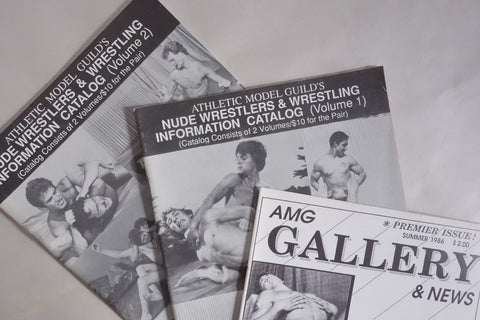 Athletic Model Guild's Nude Wrestlers & Wrestling Information Catalog (Volume #1 1991)