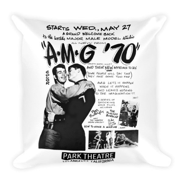 Park Theatre | AMG Whizz-Bang Throw Pillow
