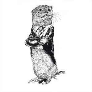 SIR OTTER LINEN TEA TOWEL