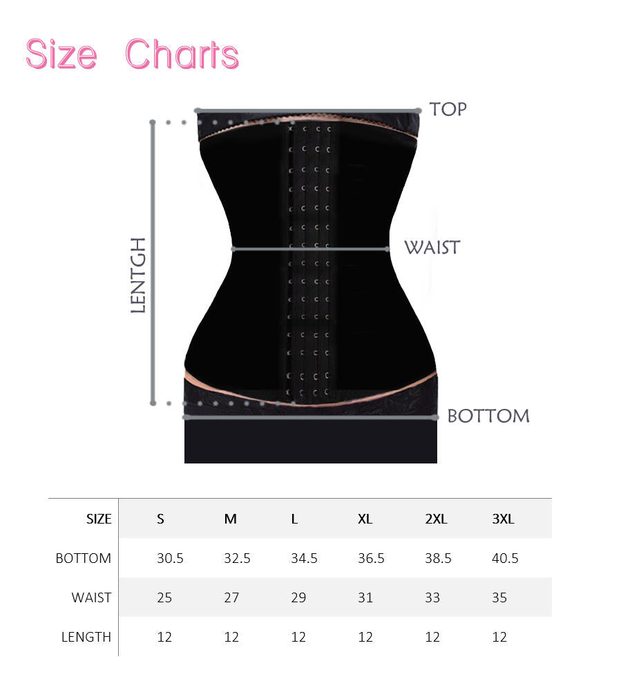 Sweet Look Latex Sport Girdle Corset - RM02