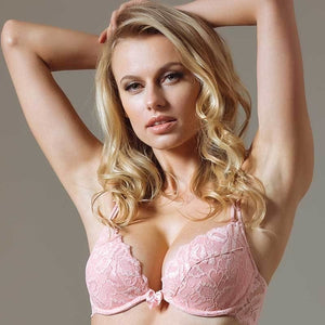 Lace Deep Plunge Push-up Bra Lavinia Dare Me