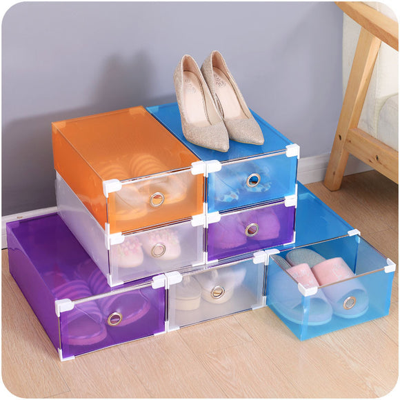 candy color drawer shoe box
