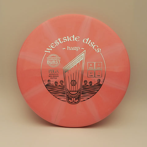 Westside Discs Tournament Burst Harp