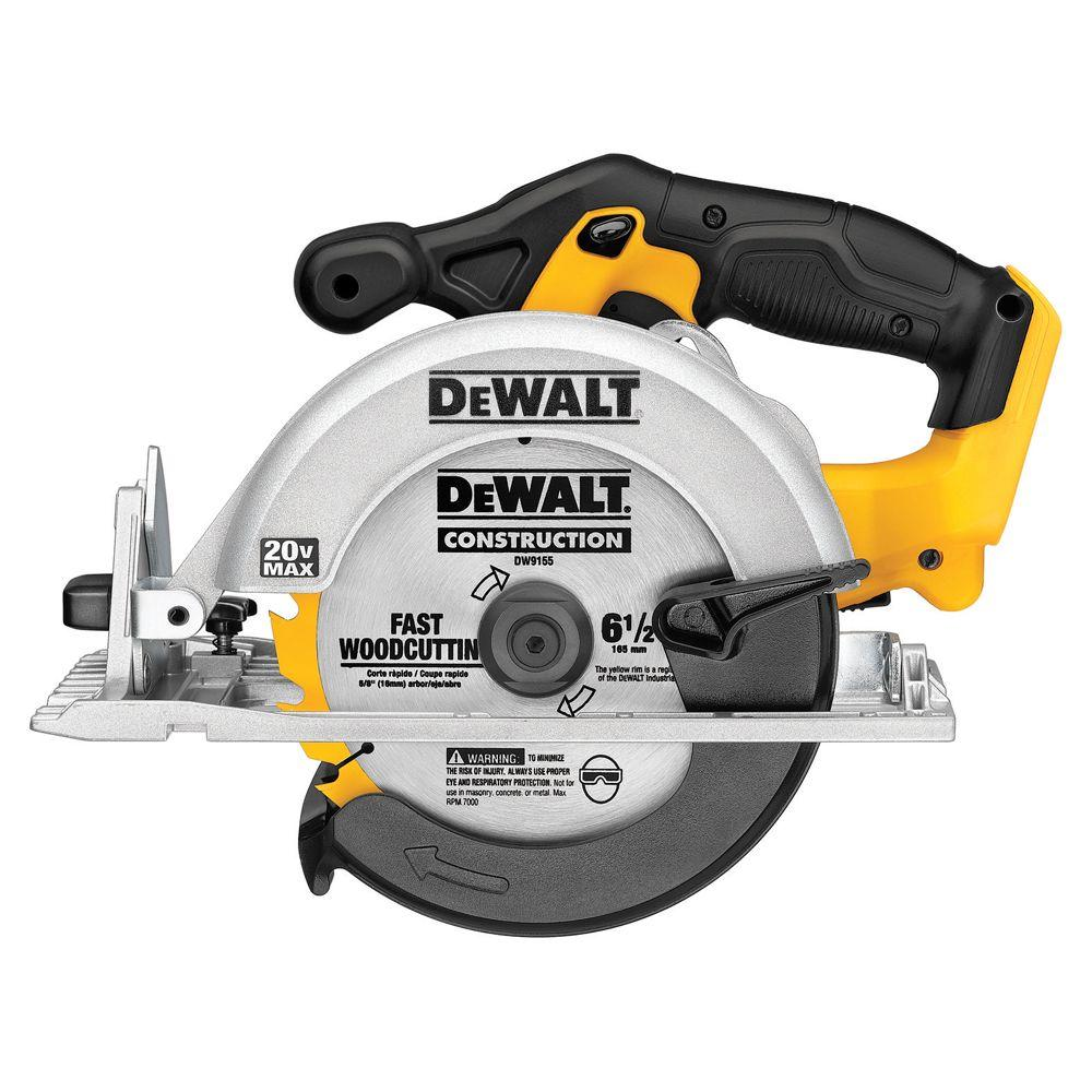 20V MAX Circular Saw Cordless 6-1/2, Tool Only