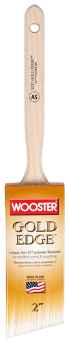 Wooster Sash Brush-Gold Edge