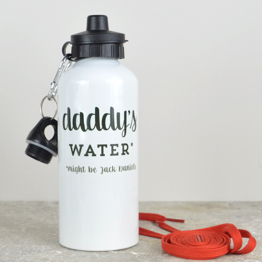 Personalised water bottle for Daddy