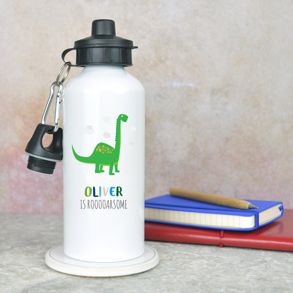 Dinosaur water bottle