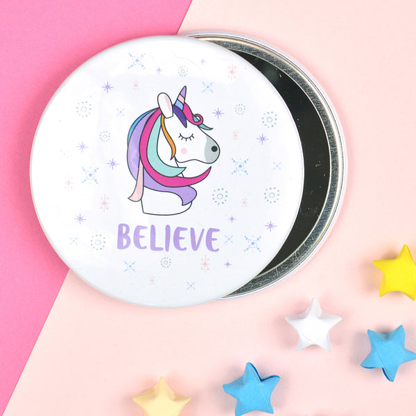 Unicorn pocket mirror