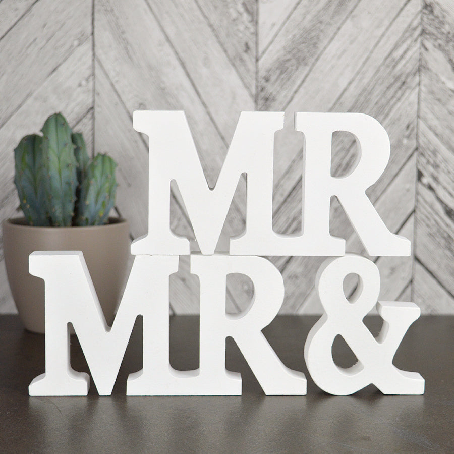 gay wedding gift, mr and mr, wooden wedding signs