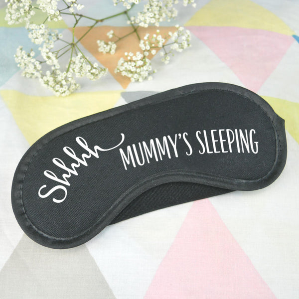 Mummy sleep mask
