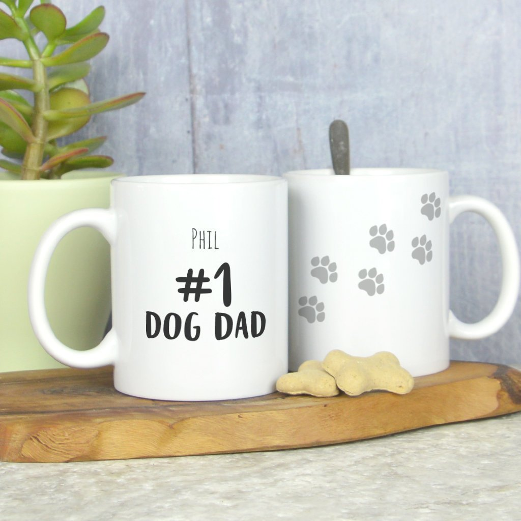 Personalised Dog Dad mug, dog mug, gift for dog lover, Father's day dog mug