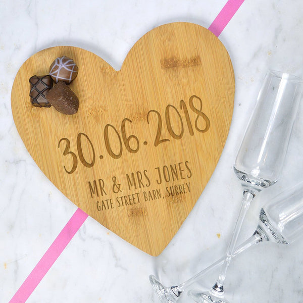 Memorable date serving board, wedding gift, engagement gift, Mr and Mrs serving board