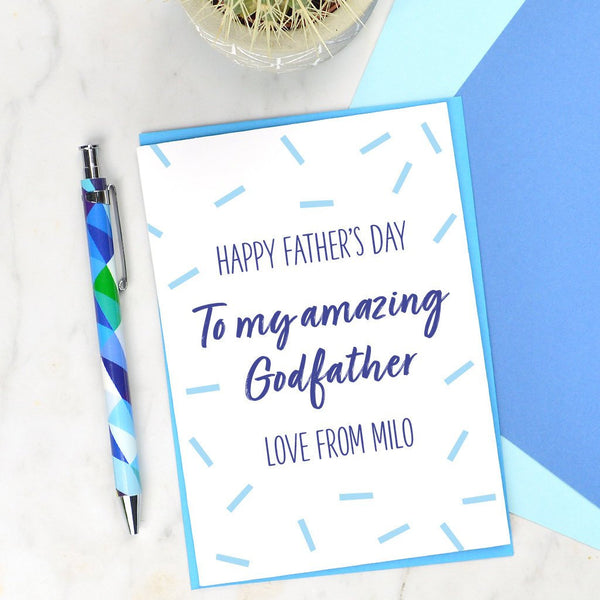 Godfather Father's day card