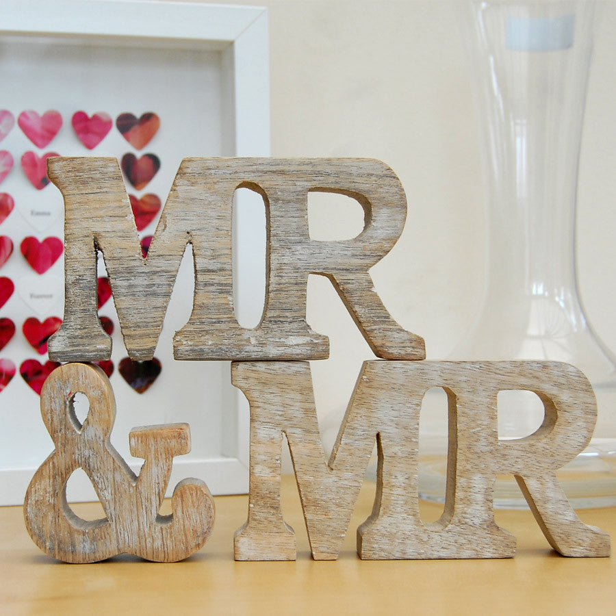 mr and mr gifts, gay wedding gifts, gay gifts, wooden wedding signs