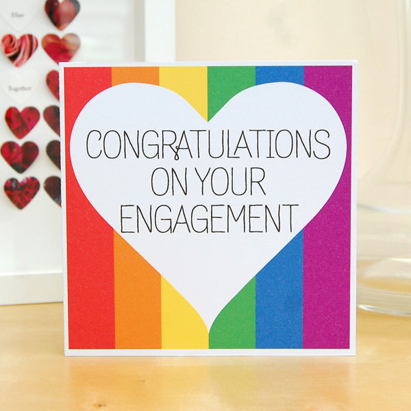 Same sex engagement card - Congratulations on your Engagement!