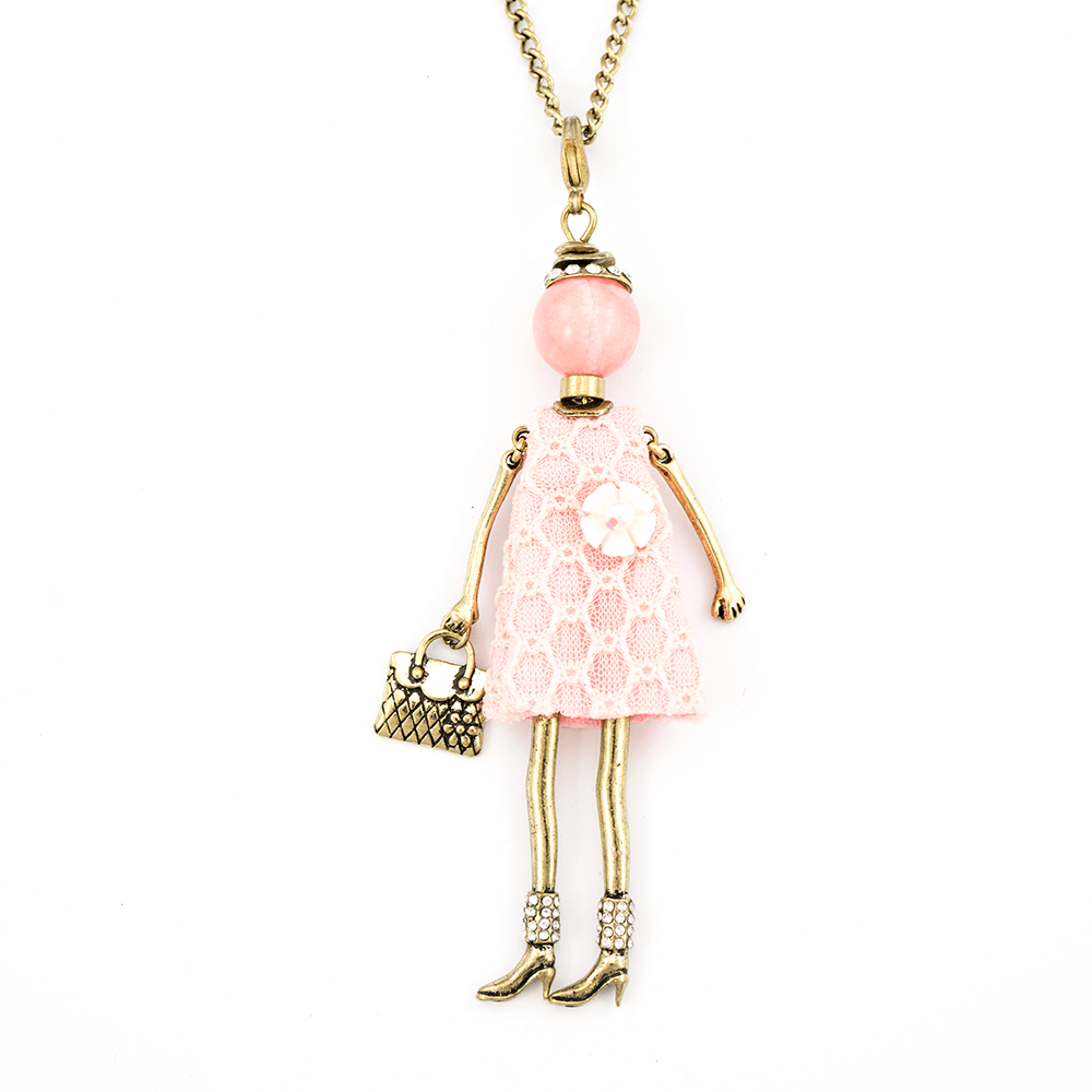 Bambola in Stile Amsterdam-New-Light-Pink | Roxanne's Jewellery