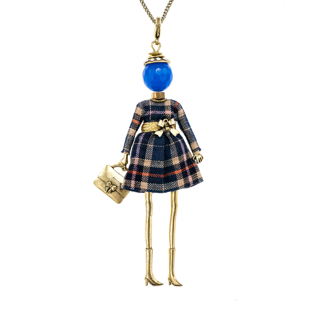 Bambola in Stile Glasgow-Blue | Roxanne's Jewellery