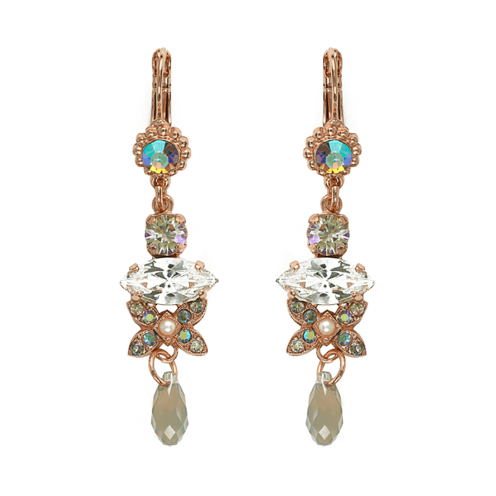 Mariana Rose Gold Plated Earrings | Roxanne's Jewellery | 1006RG6