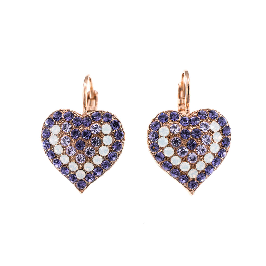 Mariana Rose Gold Plated Earrings | Roxanne's Jewellery | 1062RG6