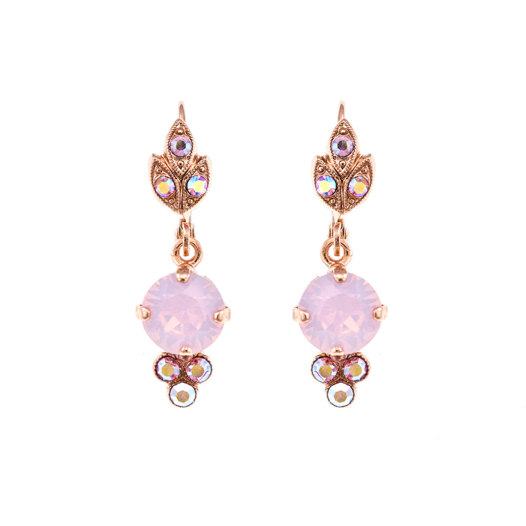 Mariana Rose Gold Plated Earrings | Roxanne's Jewellery | 395RG1