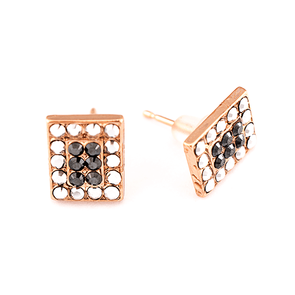 Mariana Rose Gold Plated Earrings | Roxanne's Jewellery | 747RG2