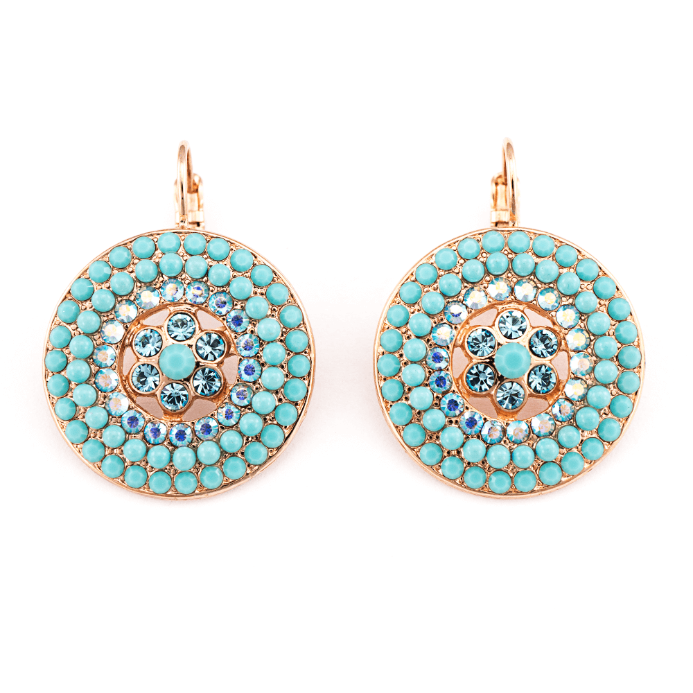 Mariana Rose Gold Plated Earrings | Roxanne's Jewellery | 2672RG6