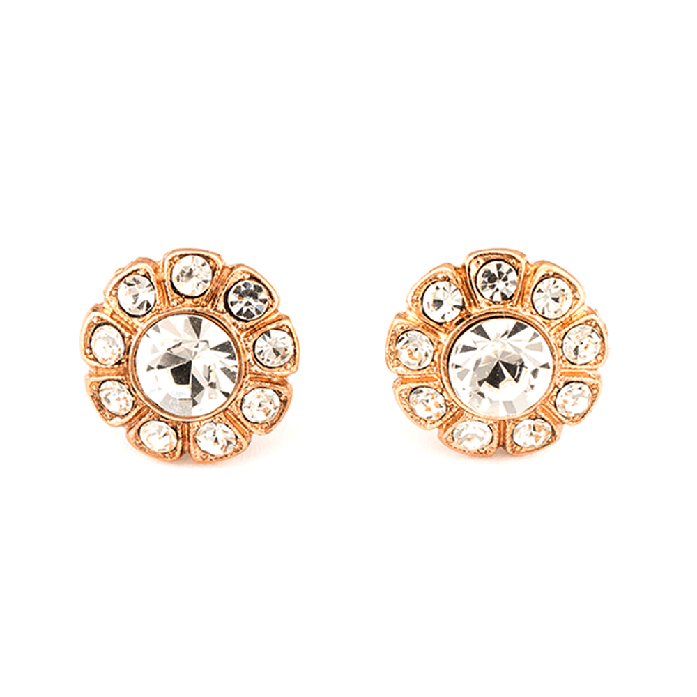 Mariana Rose Gold Plated Earrings | Roxanne's Jewellery | 001001RG2