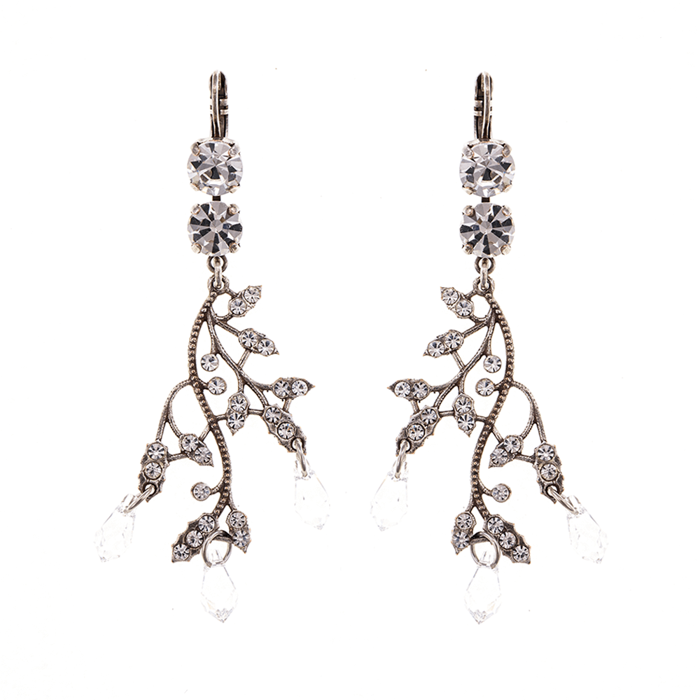 Mariana Silver Plated Earrings | Roxanne's Jewellery | 001001SP6