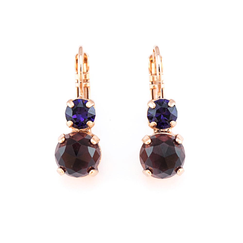 Mariana Rose Gold Plated Earrings | Roxanne's Jewellery | 2044RG