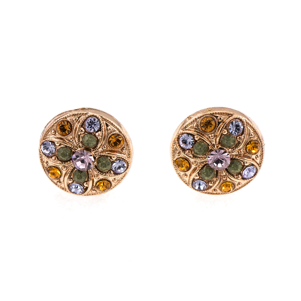 Mariana Rose Gold Plated Earrings | Roxanne's Jewellery | 1021RG2