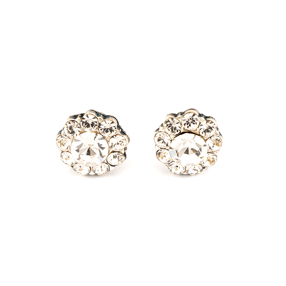 Mariana Silver Plated Earrings | Roxanne's Jewellery | 001001SP2