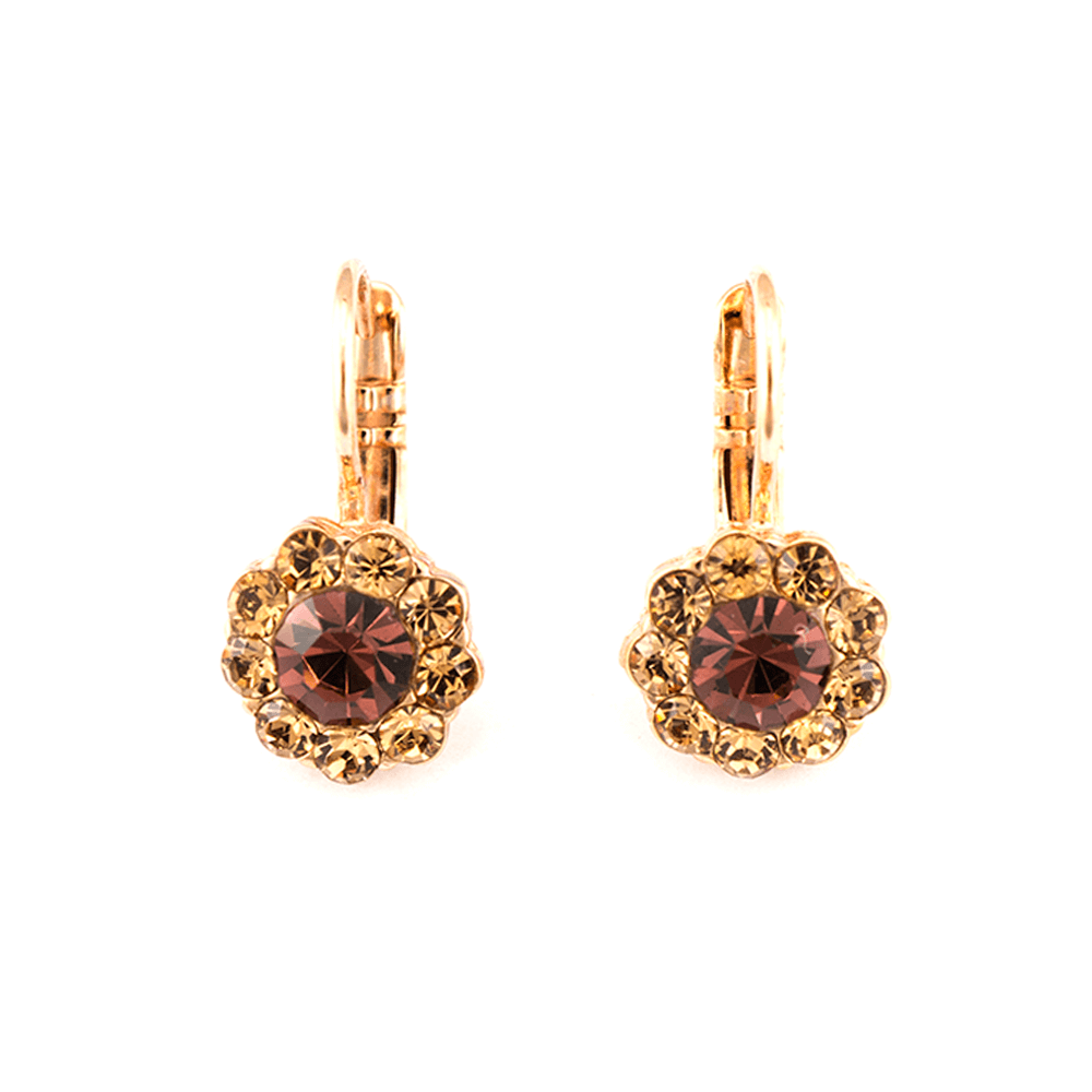 Mariana Rose Gold Plated Earrings | Roxanne's Jewellery | 1016RG6