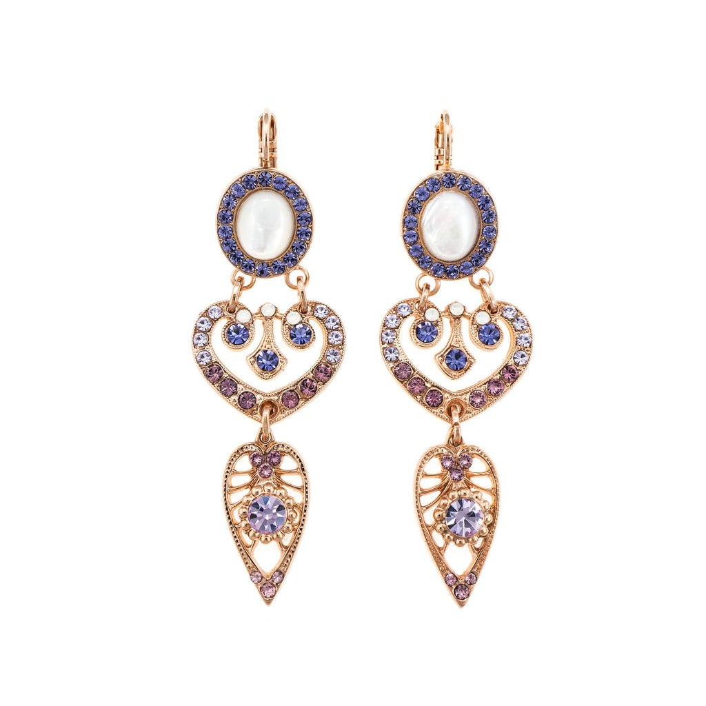 Mariana Rose Gold Plated Earrings | Roxanne's Jewellery | M1062RG6