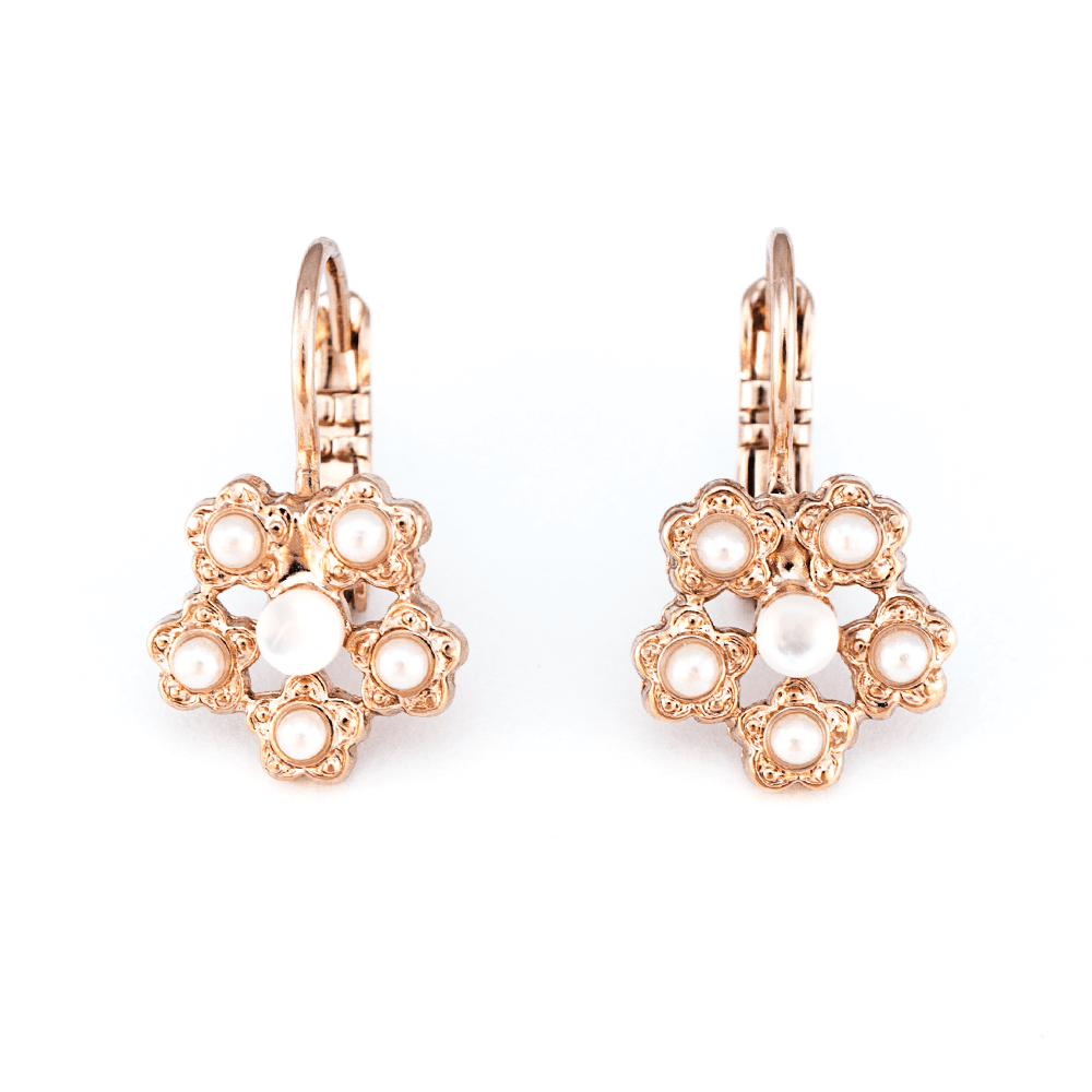 Mariana Rose Gold Plated Earrings | Roxanne's Jewellery | M1201RG6