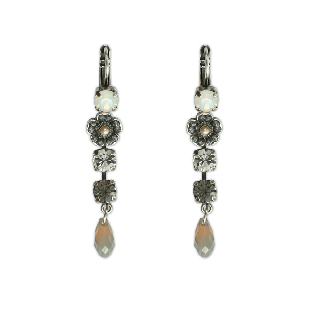 Mariana Silver Plated Earrings | Roxanne's Jewellery | 1023sp6