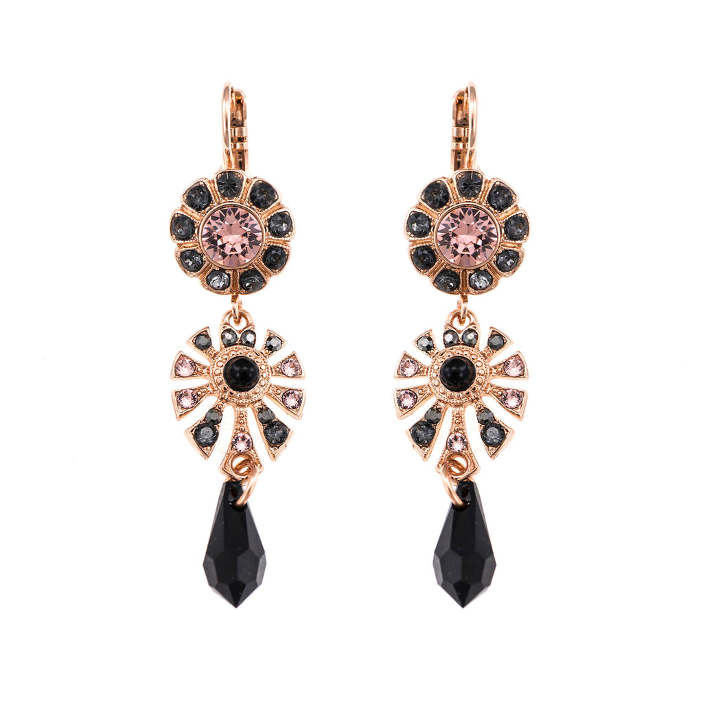 Mariana Rose Gold Plated Earrings | Roxanne's Jewellery | 1073RG6