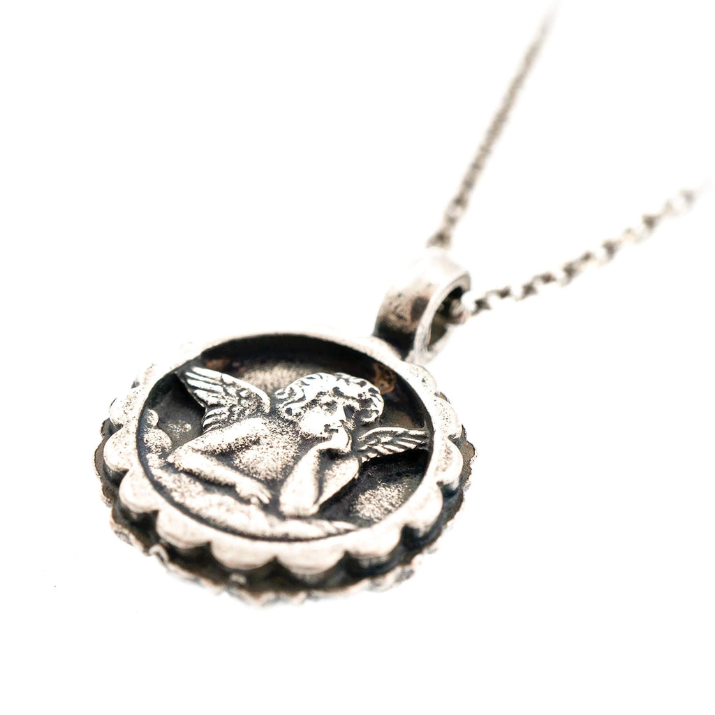 Black Velvet Collection Silver Plated Pendant Necklace-5212-1073SP